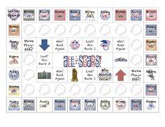 Batter Up!  A baseball-inspired All-Star Baseball board game for you!  @SublimeSpeech with more on the blog at http://sublimespeech.blogspot.com/