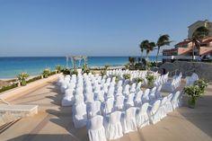 Oceanfront wedding - Omni Cancun Hotel & Villas #cancun
