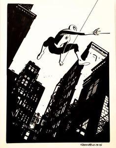 Spider-Man by Chris Samnee *