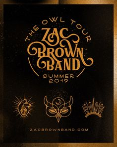 Zac Brown Band announce 'The Owl Tour' dates for summer 2019 Zac Brown Band, Blossom Music Center, Country Music News, Owl, Date Today, Win Tickets, Diabetes Treatment Guidelines, Cover Songs