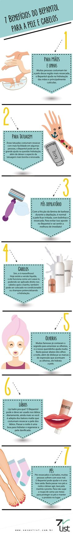 7 Benefícios do Bepantol para a pele e cabelos Make Beauty, Beauty Care, Beauty Makeup, Beauty Hacks, Body Hacks, Beauty Recipe, Diy Skin Care, How To Make Hair, Face Skin