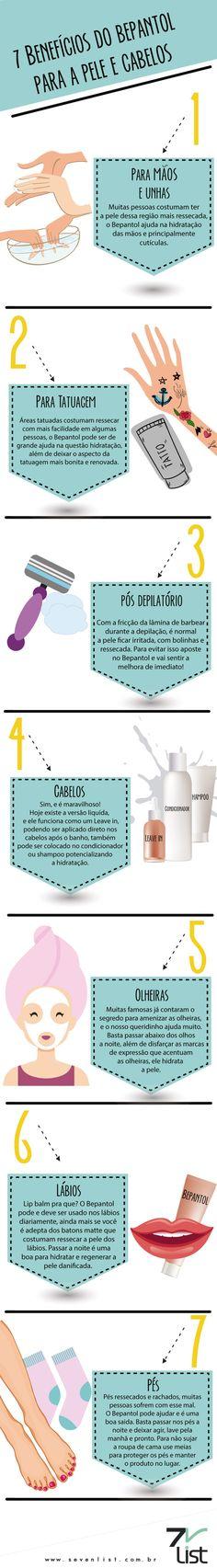 7 Benefícios do Bepantol para a pele e cabelos