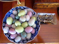 faux eggs
