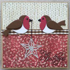 LindaCrea: Kerst 2015 - Eline's Birds