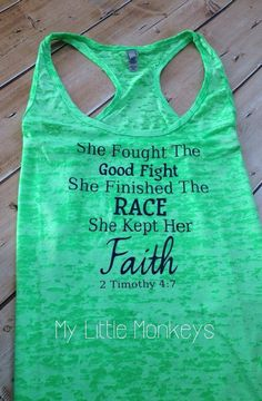 Burnout Racerback Tank  Cute Exercise shirt  by MyLittleMonkeysAZ, $22.00