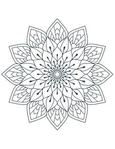 Mandala tattoo, coloring Mandala Mandala Mandala coloring pages, Mandala painting, mandala drawing - Today for your coloring here are coloring mandala art therapy to print free Obte - Pattern Coloring Pages, Free Adult Coloring Pages, Mandala Coloring Pages, Coloring Book Pages, Mandala Doodle, Mandala Stencils, Doodle Doodle, Mandalas Drawing, Mandala Painting