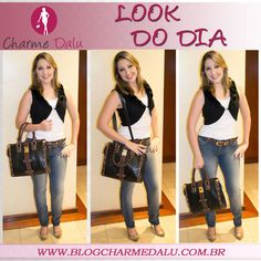 LOOK do dia: http://blogcharmedalu.com.br/look-do-dia-bolsa-spike/