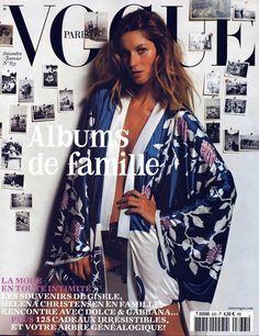Vogue Paris, December/January 2002-2003 2 | Fashion | Vogue | Gisele Bundchen by Mario Testino