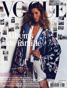 Gisele Bundchen for Vogue Paris