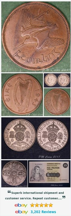 Ireland - Coins and Banknotes, UK Coins - Half Crowns items in PM Coin Shop store on eBay! http://stores.ebay.co.uk/PM-Coin-Shop/_i.html?rt=nc&_sid=1083015530&_trksid=p4634.c0.m14.l1513&_pgn=13