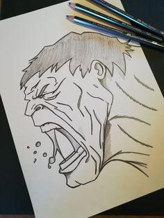 Hulk to drawing spiderman Dark Art Drawings, Pencil Art Drawings, Art Drawings Sketches, Cartoon Drawings, Cute Drawings, Avengers Drawings, Avengers Art, Marvel Art, Cartoon Kunst