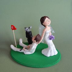 Find This Pin And More On Wedding Ideas Custom Made Cake Topper Golf
