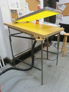 vacuum table | Tumblr #silkscreen #diy #print
