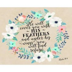 Psalm 91 - 4 Canvas Art - Tara Moss (24 x 30)