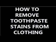 How To Remove To Remove And Stains On Pinterest