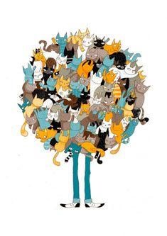 Кошки / Декупаж / Картинки для декупажа
