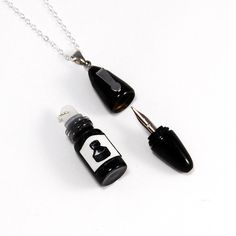 Working Fountain Pen Necklace by  YOU gNeek