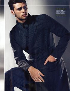 Claude Simonon looking all grown up in GQ Italia (Oct 12). Ph. Van Mossevelde+N