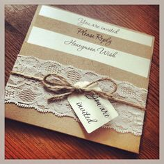 Vintage Lace Wedding Invitations | http://simpleweddingstuff.blogspot.com/2014/04/vintage-lace-wedding-invitations.html