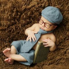 For Sale - Baby Photography Props Newborn Clothing Set Boy Shorts Long Tie Hat Glasses Suit Infant Photo Shoot Props Accessories - Kids Accessories Toddler Boy Photography, Newborn Photography Props, Baby Boy Photos, Newborn Photos, Baby Images, Baby Pictures, Baby Costumes For Boys, Jean Marie, Retro Baby
