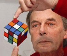 The Hungarian inventor of Rubik's Cube: Erno Rubik #Hungarian #RubiksCube #Rubik