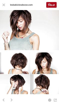 Most Coveted Bob Hairstyle Inspirations for 2018 - CrochetingNeedles . The Most Coveted Bob Hairstyle Inspirations for 2018 - CrochetingNeedles .The Most Coveted Bob Hairstyle Inspirations for 2018 - CrochetingNeedles . Curly Hair Styles, Curly Bob Hairstyles, Hairstyles With Bangs, Medium Hair Styles, Bob Haircuts, Bangs With Medium Hair, Short Hair Cuts, Great Hair, Hair Lengths