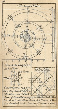 Free image Friday :: Architecture drawings from by Landofnodstudio Sacred Architecture, Classic Architecture, Architecture Drawings, Historical Architecture, Architecture Details, Geometry Art, Sacred Geometry, Divine Proportion, Fibonacci Spiral