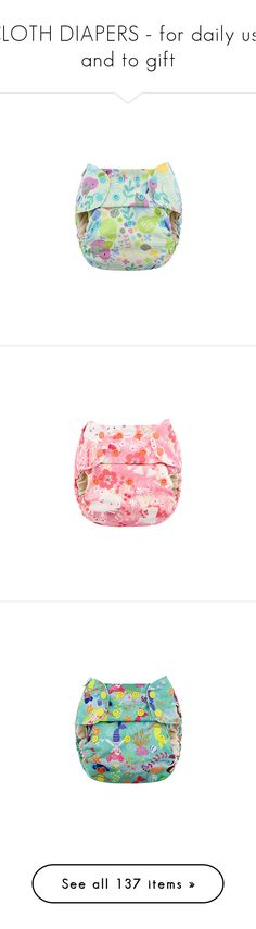"""""""CLOTH DIAPERS - for daily use and to gift"""" by littlexloves ❤ liked on Polyvore"""