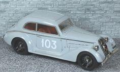 Alfa Romeo 6c 1750 Berlinetta Touring Mille Miglia 1937 #103 - Alfa Model 43