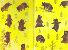 Golden book endpapers   by Gertrude Crampton