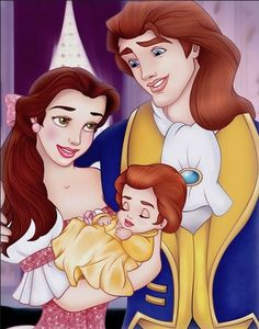Beauty and the Beast Family