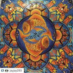"227 Likes, 4 Comments - Desenhos Colorir (@desenhoscolorir) on Instagram: ""Fantástico! By @jayjay293 #adultcoloringbook #lostocean #oceanoperdido @johannabasford…"""