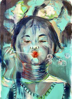 Portraits, Projects, Painting, Art, Log Projects, Art Background, Blue Prints, Painting Art, Kunst