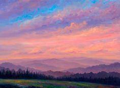 Sunset Ridge - Horizontal · Claxton Farms Prints Weaverville North Carolina ...