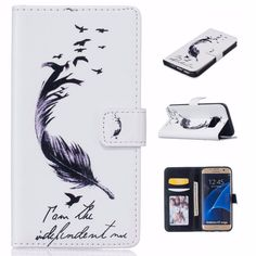 Samsung Galaxy S5/S6/S6 Edge/S6 Edge Plus/S7 PU Leather Wallet Case  #value #quality #phonecases #case #iPhone #Samsung #htc #alcatel #doogee #sony