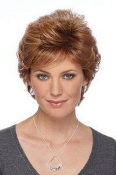 pictures of feathered haircuts for women | Womens Wig CARAMELKISS Color by Estetica Design. $94.99. Full wigs ...