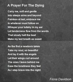 prayers for the dying - Google Search