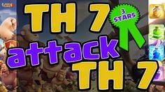 Clash of Clans TH 7 Attack TH 7 3 Stars Clan War   Y Channel : https://www.youtube.com/channel/UC2SiB2IYhPOqAZZIeB4BNmQ