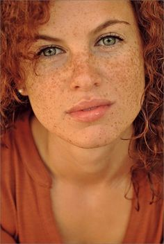 "for-redheads:    ""'freckles'"" - AliaJolie shot by Ines Fuchs. @Carole Whitehead- for your storyboards? :)"