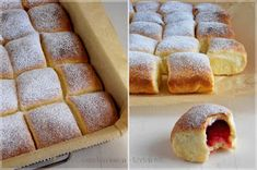 ...konyhán innen - kerten túl...: Meggyes bukta Bakery Recipes, Bread Recipes, Cooking Recipes, Light Desserts, Bread Rolls, Cake Cookies, Hot Dog Buns, Muffin, Brunch