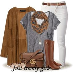 neutral tone fall outfit, Casual chic outfits for woman http://www.justtrendygirls.com/casual-chic-outfits-for-woman/
