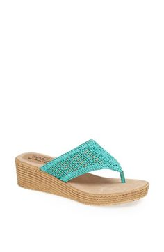Sbicca 'Delaluna' Wedge Sandal from @Nordstrom Was: $54.95 Now: $39.90 #sale #beach #fashion #style