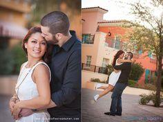 Las Vegas Wedding Photographers, Las Vegas Engagment Photos, Fun engagement Photos Las Vegas, Creative engagement photos, Exceed Photography, Lake Las Vegas