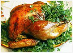 Civil War era roast turkey http://civilwarcooking.blogspot.com/