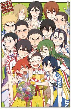 Yowamushi Pedal- Say Cheese! will be sold as print at AX >< Kageyama, Haikyuu, Yowamushi No Pedal, Otaku Anime, Kuroko, Animation, Manga, Anime Stuff, Illustration