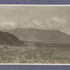 Vulkaan in de wolken: de Goentoer bij Garut, anonymous, c. 1900 - c. 1920 - Rijksmuseum