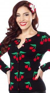 Sourpuss Cherries Jubilee Cardigan Blame Betty