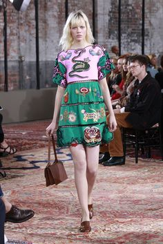 Gucci Resort 2016 [Photo: Thomas Iannaccone]