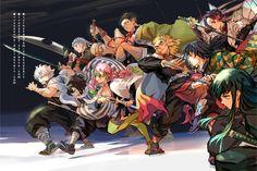 Demon Slayer, Slayer Anime, Chica Anime Manga, Anime Art, Anime Figures, Anime Characters, Anime Demon, Animes Wallpapers, Geek Stuff