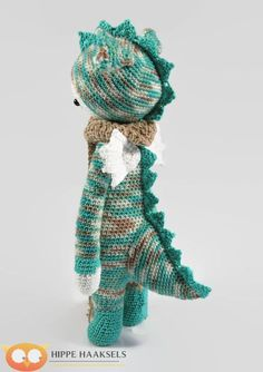 Lalylala Dragon Doll Lalylala Dinosaur Doll by Hippehaakselss